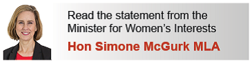 Read the Minister's statement Hon Simone McGurk MLA